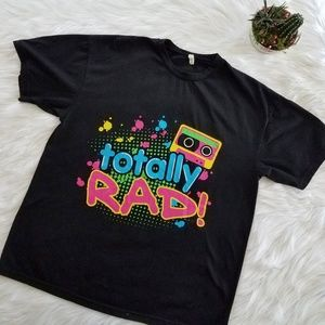 Totally Rad 90s Graphic tee